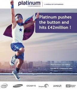 Platinum hits £42million!